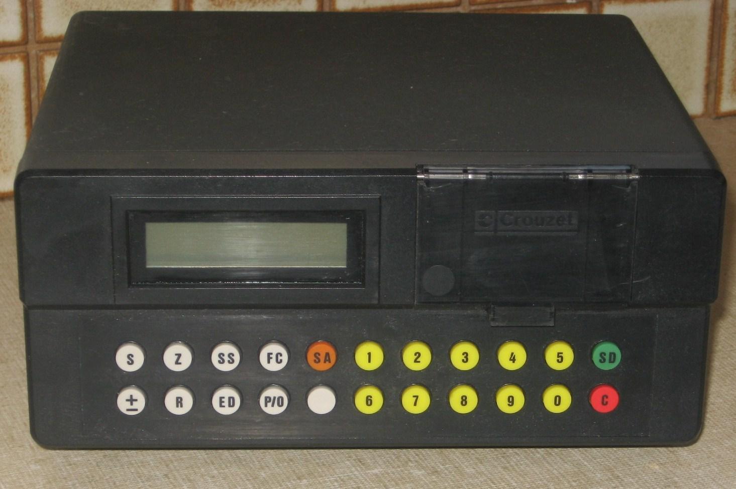 Australian bus ticket machine